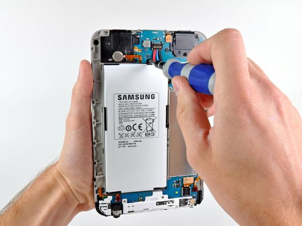 Как разобрать планшет Samsung Galaxy Tab (17)