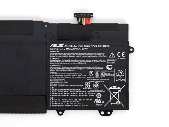 Как разобрать ноутбук Asus Zenbook UX32VD (14)
