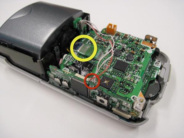Как разобрать фотоаппарат Nikon Coolpix 3500 (11)