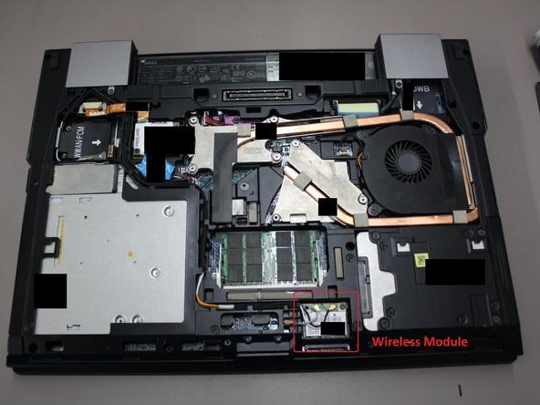 Как разобрать ноутбук Dell Latitude E6500 (22)