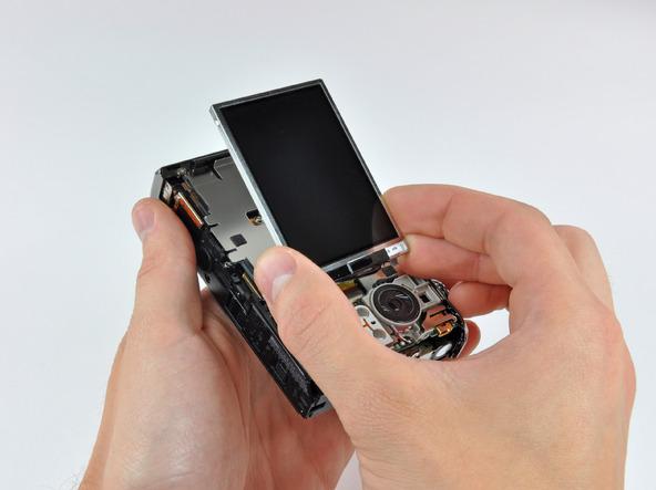 Как разобрать фотоаппарат Nikon Coolpix S1000pj (18)