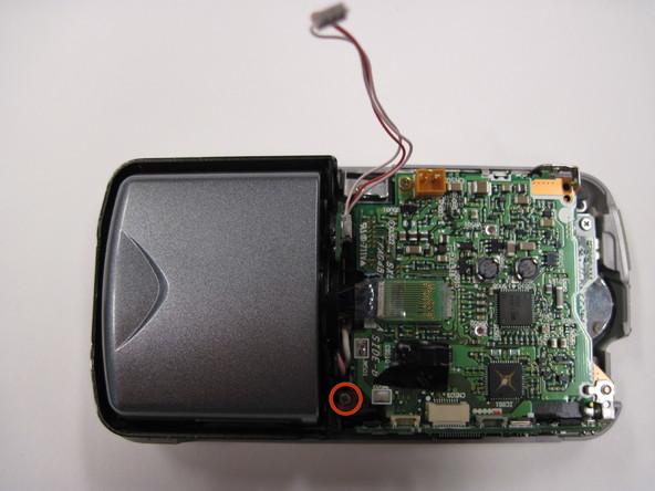 Как разобрать фотоаппарат Nikon Coolpix 3500 (12)