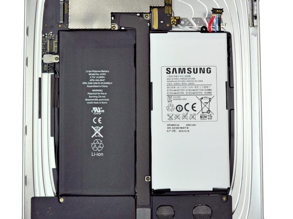Как разобрать планшет Samsung Galaxy Tab (21)
