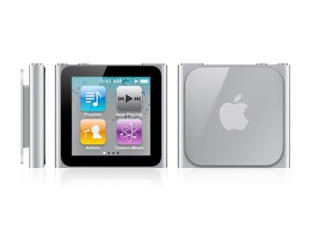Как разобрать плеер Apple iPod Nano 6-го поколения (1)