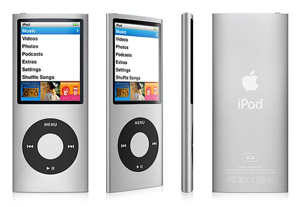 Как разобрать плеер Apple iPod Nano 4-го поколения (1)