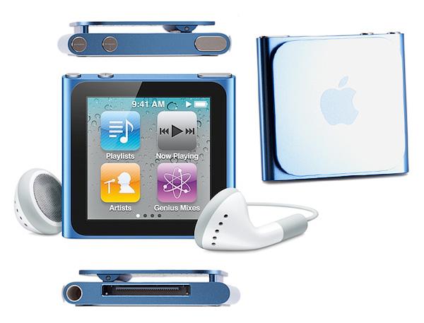 Как разобрать плеер Apple iPod Nano 6-го поколения 2011 года (1)