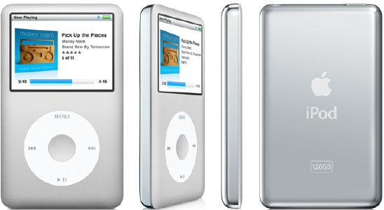 Как разобрать плеер Apple iPod Classic (1)