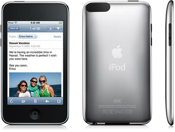 Как разобрать плеер Apple iPod Touch 3-го поколения (1)