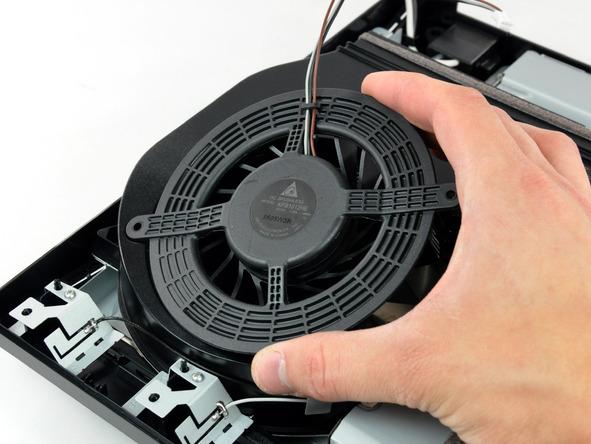 Как разобрать игровую консоль Sony PlayStation 3 Slim (31)