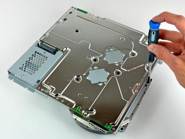 Как разобрать игровую консоль Sony PlayStation 3 Slim (47)
