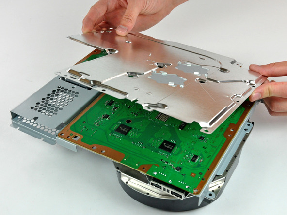 Как разобрать игровую консоль Sony PlayStation 3 Slim (48)
