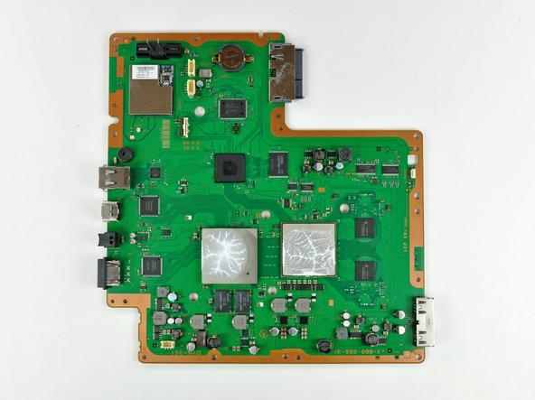 Как разобрать игровую консоль Sony PlayStation 3 Slim (51)