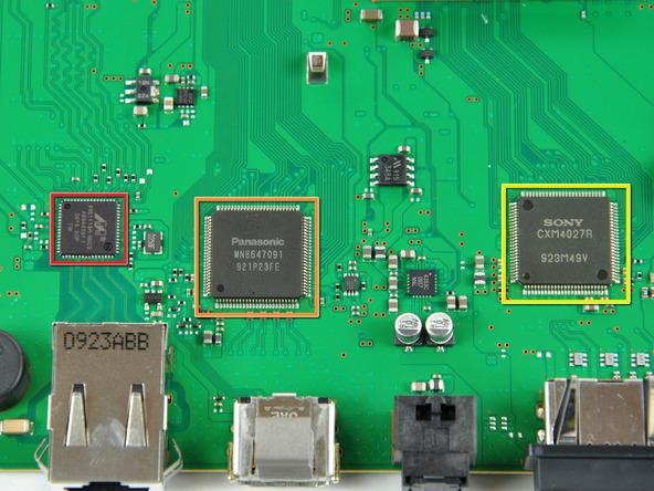 Как разобрать игровую консоль Sony PlayStation 3 Slim (57)