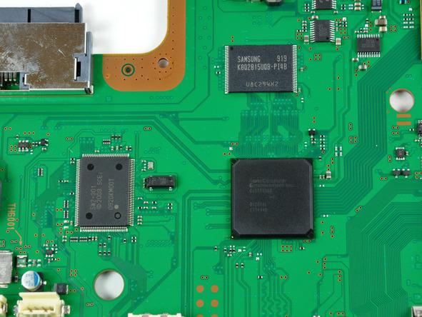 Как разобрать игровую консоль Sony PlayStation 3 Slim (59)