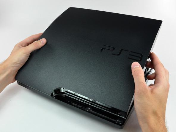 Как разобрать игровую консоль Sony PlayStation 3 Slim (17)