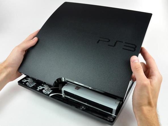 Как разобрать игровую консоль Sony PlayStation 3 Slim (18)