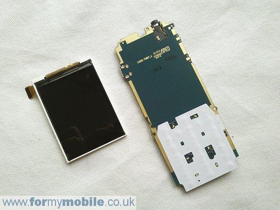 Как разобрать телефон Sony Ericsson Cedar J108 (1)
