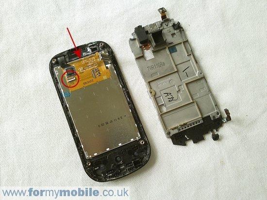Как разобрать телефон Samsung Galaxy Apollo i5800 (9)