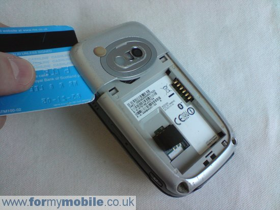 Как разобрать телефон O2 XDA Mini S (3)