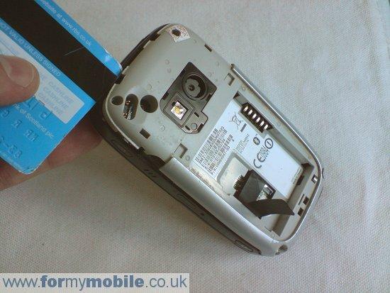 Как разобрать телефон O2 XDA Mini S (5)
