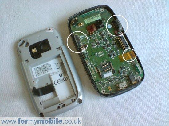 Как разобрать телефон O2 XDA Mini S (6)