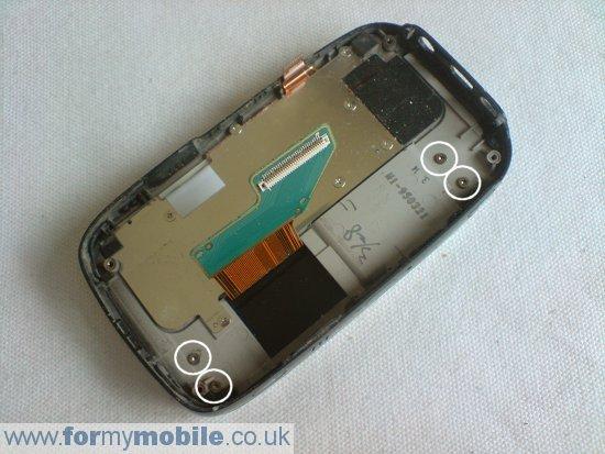 Как разобрать телефон O2 XDA Mini S (10)