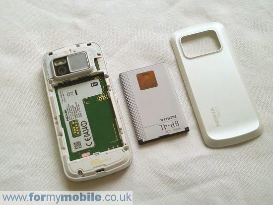 Как разобрать телефон Nokia N97 (2)