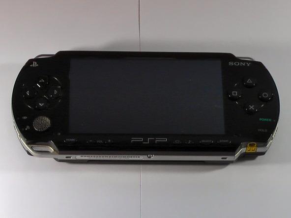 Как разобрать игровую консоль Sony PSP 1003 (2)
