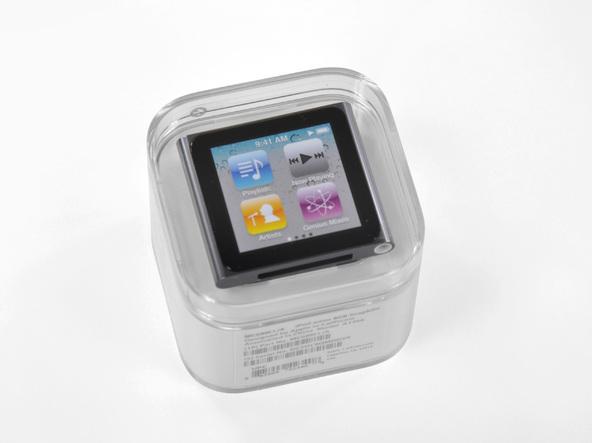 Как разобрать плеер Apple iPod Nano 6-го поколения (2)
