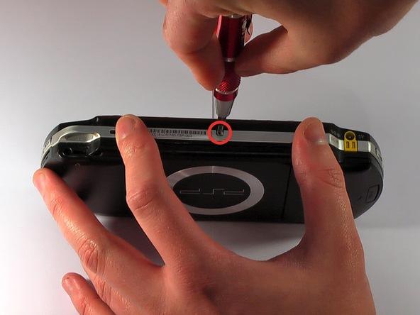Как разобрать игровую консоль Sony PSP 1003 (3)