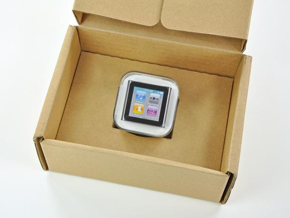Как разобрать плеер Apple iPod Nano 6-го поколения (3)