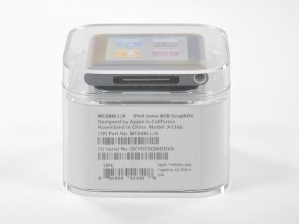 Как разобрать плеер Apple iPod Nano 6-го поколения (4)