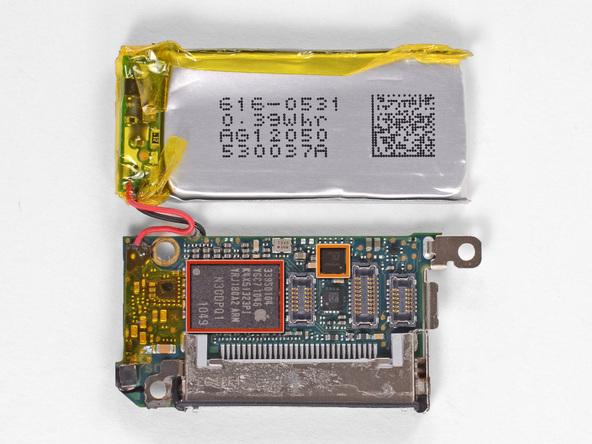 Как разобрать плеер Apple iPod Nano 6-го поколения 2011 года (18)