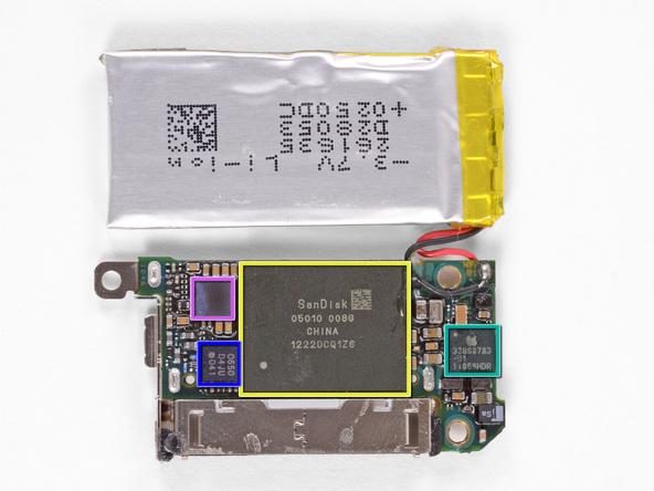 Как разобрать плеер Apple iPod Nano 6-го поколения 2011 года (19)