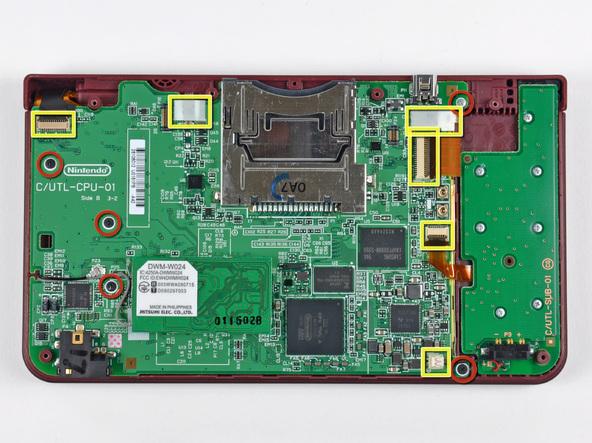 Как разобрать игровую консоль Nintendo DSi XL (16)