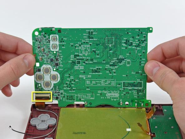 Как разобрать игровую консоль Nintendo DSi XL (17)