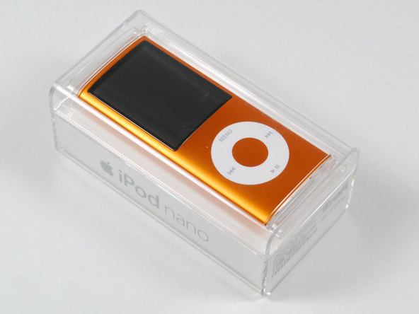Как разобрать плеер Apple iPod Nano 4-го поколения (2)