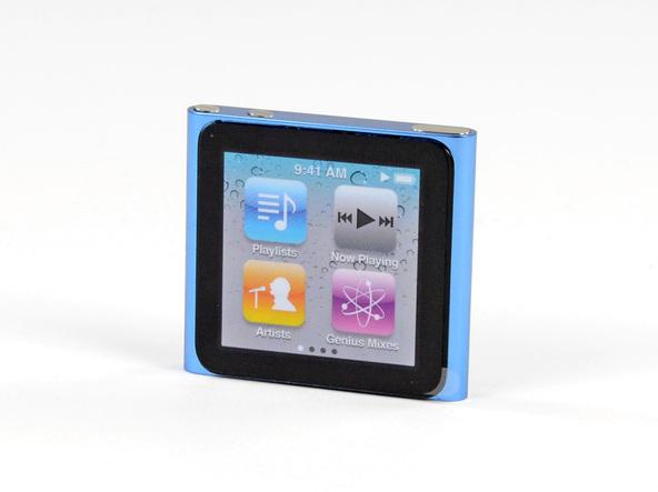 Как разобрать плеер Apple iPod Nano 6-го поколения 2011 года (2)