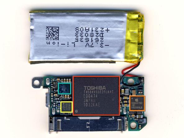 Как разобрать плеер Apple iPod Nano 6-го поколения (26)