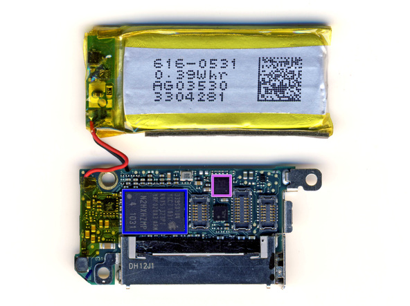 Как разобрать плеер Apple iPod Nano 6-го поколения (27)