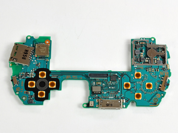 Как разобрать игровую консоль Sony PSP Go (28)