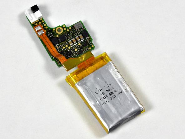 Как разобрать плеер Apple iPod Shuffle 3-го поколения (20)