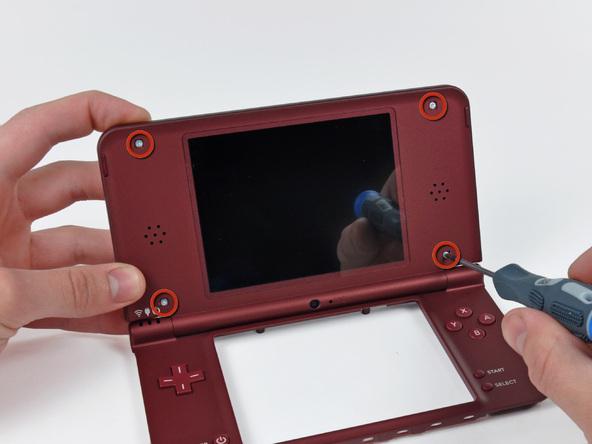 Как разобрать игровую консоль Nintendo DSi XL (22)