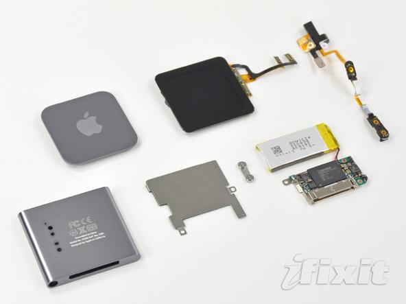 Как разобрать плеер Apple iPod Nano 6-го поколения (30)
