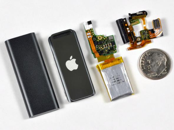 Как разобрать плеер Apple iPod Shuffle 3-го поколения (23)