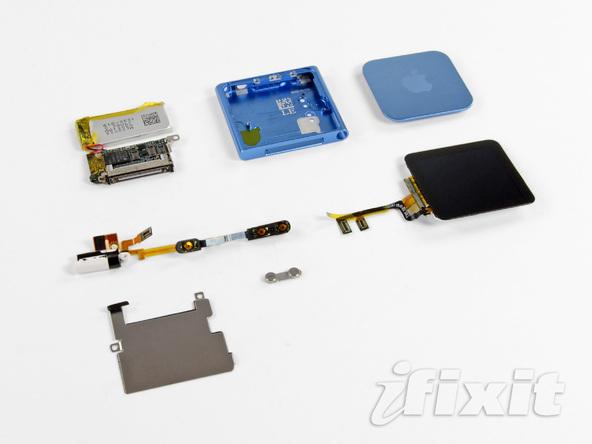 Как разобрать плеер Apple iPod Nano 6-го поколения 2011 года (29)