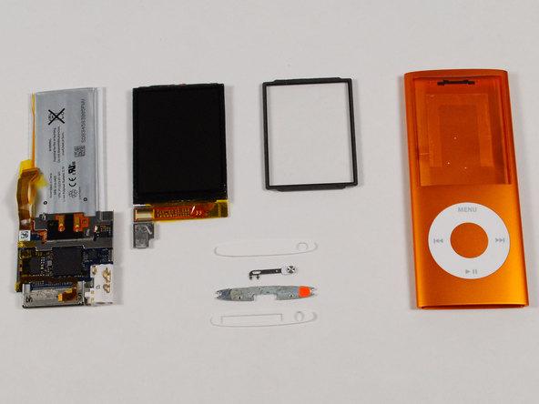 Как разобрать плеер Apple iPod Nano 4-го поколения