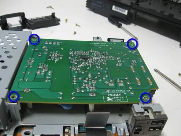 Как разобрать игровую консоль Sony PlayStation 2 (40)