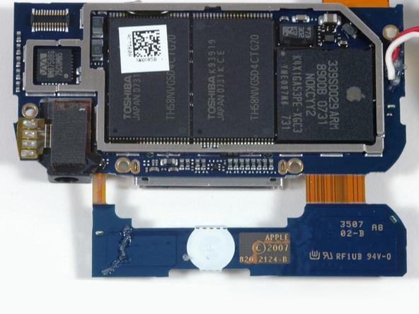 Как разобрать плеер Apple iPod Touch 1-го поколения (18)