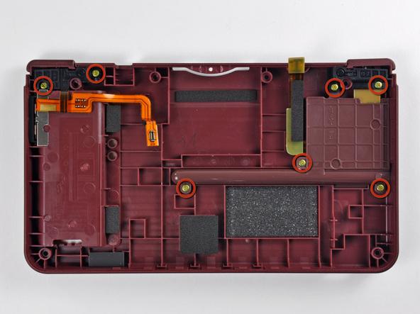 Как разобрать игровую консоль Nintendo DSi XL (29)